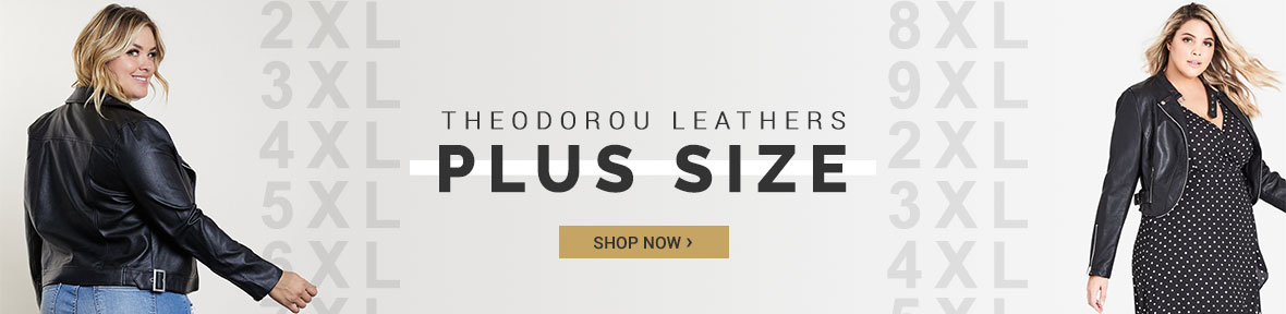 Plus Size Women Leather Jackets